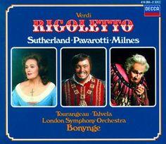 Verdi Rigoletto - Sutherland/Pavarotti/Bonynge - Decca