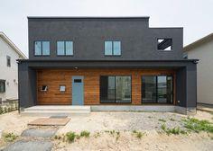 Our own style house / exterior - Facade Design, Exterior Design, House Design, Style At Home, Modern Exterior, Interior And Exterior, Loft Stil, Ultra Modern Homes, Facade Architecture