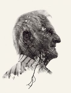 Christoffer Relander ;Finnish Photographer's Experiments with Multiple Exposures Result in Fantastical Portraits; We Are Nature Series.