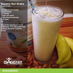 Isagenix Banana Nut Shake