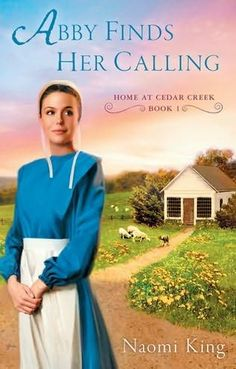 The Lambright family's eldest daughter, Abby, runs her own sewing shop.  There she mends the town's clothes and their torn relationships. (Amish Fiction--Abby Finds Her Calling by Naomi King)