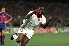 Marcel Desailly - at Milan from 1993 - 1998