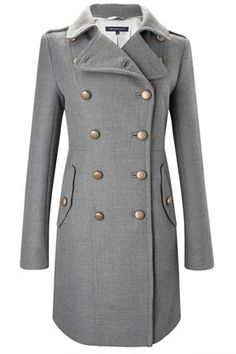erno wool coat / french connection