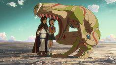 Hoshi wo Ou Kodomo/Children Who Chase Lost Voices/Journey to Agartha A film by Makoto Shinkai. Created by CoMix Wave Films. Hayao Miyazaki, Lost Voice, The Voice, Fanart, Totoro, Hoshi O Ou Kodomo, March Movies, Anime English Dubbed, Nausicaa