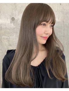 オリーブベージュ:2019年3月6日|シマ キチジョウジ(SHIMA KICHIJOJI)のブログ|ホットペッパービューティー Korean Hair Color, Ash Hair, Hair Images, Low Lights, Hair Inspo, Long Hair Styles, Beauty, Hair Inspiration, Light Brown Hair
