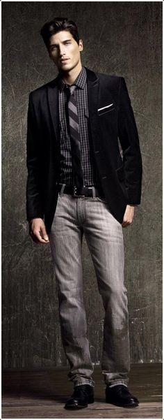 40 Black Blazer oblečení pro muže (nejlepší příslušenství pro muže) - pánská móda 2017