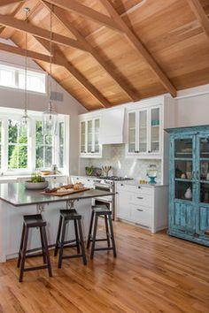 Makonikey Residence - beach-style - Kitchen - Boston - Interiors Studio Martha's Vineyard