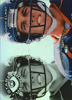 1997 (BRONCOS) Donruss Preferred Staremasters #19 John Elway /1500 #DonrussPreferred #DenverBroncos John Elway, Different Sports, Sports Photos, Football Cards, Denver Broncos, Nfl, Rest, Country, Ebay