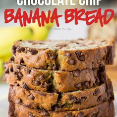 One Bowl Chocolate Chip Zucchini Bread WOW! This One Bowl Chocolate Chip Banana Bread is so easy and seriously SO GOOD! Easy Banana Bread, Banana Bread Recipes, Cake Recipes, Dessert Recipes, Chocolate Chip Zucchini Bread, Banana Chocolate Chip Muffins, Chocolate Chips, Elvis Presley, Easy Chocolate Lava Cake