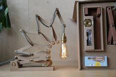 Back the Kinetic Lamp on Kickstarter! Here it is with the WattNott Willis Filament LED Bulb - https://www.kickstarter.com/projects/animaro/crane-the-kinetic-lamp?ref=nav_search