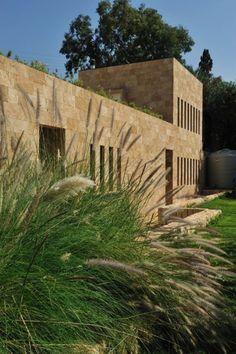 Apartment, Ventilation Idea Concrete Exterior Wall Idea: A Superb Beach House in Lebanon