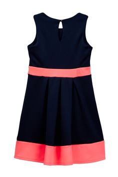 Colorblocked Bow Dress (Big Girls) by Emerald Sundae on @nordstrom_rack