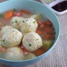 Resep Masakan Sup Bakso Tahu hits - Resep Tina Savory Snacks, Healthy Snacks, Confinement Food, Seafood Recipes, Cooking Recipes, Good Food, Yummy Food, Indonesian Cuisine, Malaysian Food