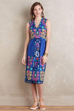 Magali Midi Dress - anthropologie.com