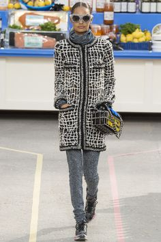 Défilé Chanel prêt-à-porter automne-hiver 2014-2015