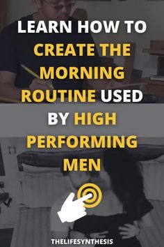 I made a list of all the routines and activities you need to create a life that models the daily schedules of the most high performing men on the planet. Creating a hyper masculine and optimized morning routine is the best way to be the perfection version of yourself. #morningroutine #morningroutineformen #dailyschedule