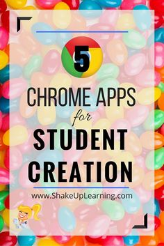 5 Chrome Apps for Student Creation - make that Add Book Creator for Chrome. Teaching Technology, Teaching Tools, Educational Technology, Technology Integration, Teaching Biology, Instructional Technology, Technology Tools, Teaching Ideas, Google Drive