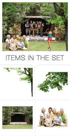 """""""Bluegrass Festival"""" by sjlew ❤ liked on Polyvore featuring art"""