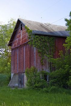 .there is just something about an old barn that is comforting to me