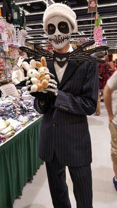 Jack Skellington is spooooky. Emerald City, Jack Skellington, Four Square, Halloween Face Makeup, Pride