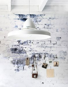 KARWEI | Creëer met dit behang een industrieel effect in je woning.