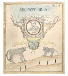 Insider Art: The Powerful Drawings on Mental Institution Stationary