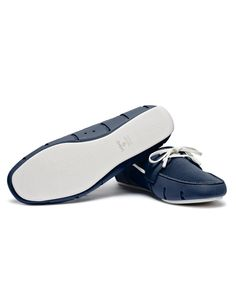 Swims Navy/White Sports Loafers | Accent Clothing