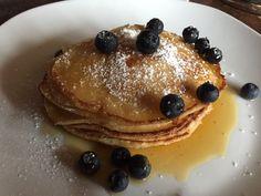 Pancakes mit Ahornsirup & Heidelbeeren (2)