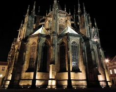 Saints Vitus Cathedral is a Roman Catholic metropolitan cathedral in Prague, the seat of the Archbishop of Prague. Czech Republic