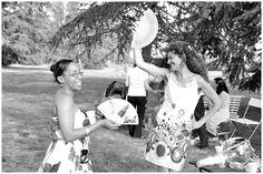 wedding guests having fun in South of France www.awardweddings... via French Wedding Style