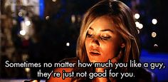 But it's important to remember that these are the guys who we should leave well alone. | 25 Times Lauren Conrad Taught Us All We Need To Know About Life