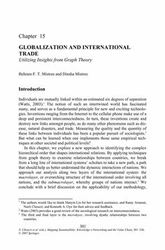 Global Governance Play In Globalisation