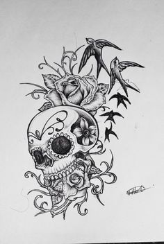 Love this piece! #sugarskull