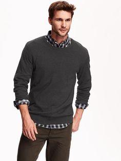 Men's Crew-Neck Sweater Product Image - family pictures idea