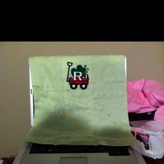 Burp cloth for aj