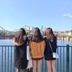 Best Friend Couples, Best Friend Pictures, Best Friend Goals, Girl Pictures, Ulzzang Korean Girl, Cute Korean Girl, Ulzzang Couple, Friends Korean, Korean Picture