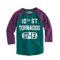 Boys' tornados baseball tee - tees & polos - Boy's new arrivals - J.Crew