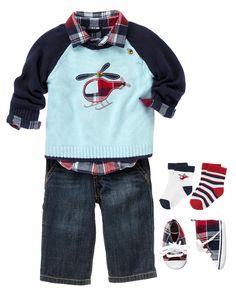 Newborn Boy Outfits, Newborn Boy Clothes at Gymboree