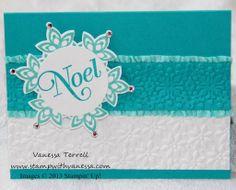 Festive Flurry Noel - #ChristmasCard, #FestiveFlurry,