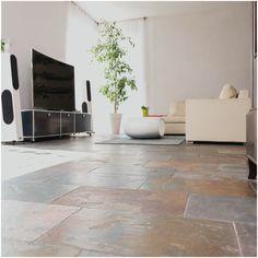 Moderne Wohnzimmer Fliesen And Modern Eingerichtetes Wohnzimmer Mit  Schiefer Mustang Fliesen | Wohnzimmer | Pinterest