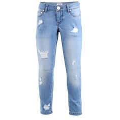 DENIM CAPRI PANT LIGHTBLUEWASH