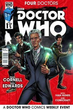 """REVIEW: Doctor Who: Four Doctors - """"These Doctors Must Never Meet"""""""