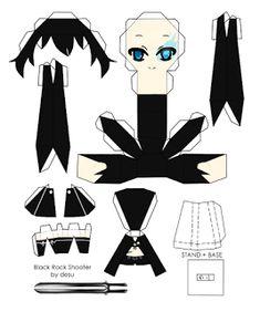 anime papercraft | La otaku Francisca: Papercraft animes,vocaloid y touhou variados ...