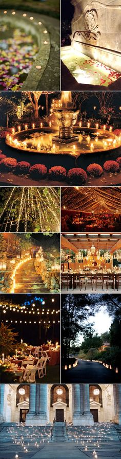 Outdoor Wedding Lighting | Lighting For Your Outdoor Wedding Reception Venue | Pixel & Ink