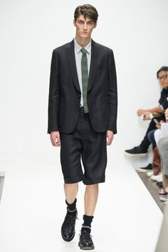 Shawl collar | Margaret Howell Spring 2016 Menswear - Collection - Gallery - Style.com