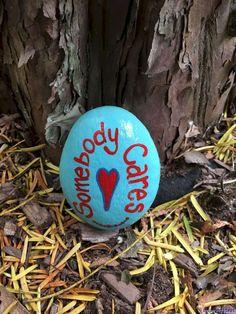 033 Cute Painted Rock Ideas for Garden