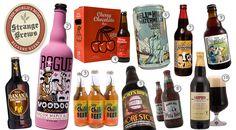 O site Cool Material fez uma seleção bem interessante com as cervejas mais bizarras do mundo.