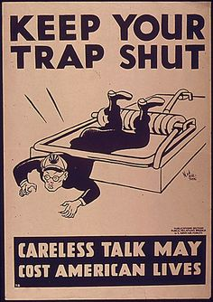KEEP YOUR TRAP SHUT | Flickr - Photo Sharing!