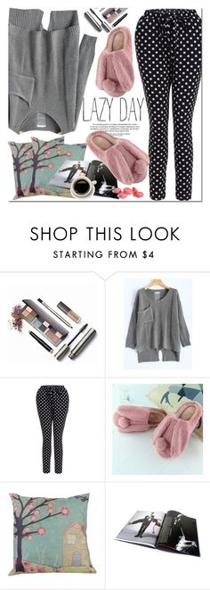 """""""Lazy Day"""" by oshint ❤ liked on Polyvore featuring Laura Mercier"""