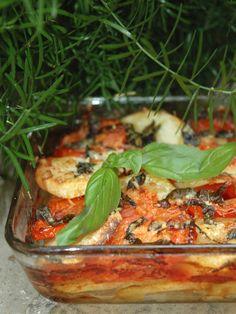 Recette de Gratin de pommes de terre et de tomates